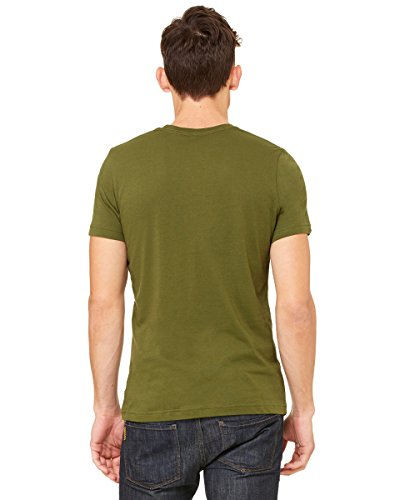 GloriousReturn Bella Canvas Unisex Jersey Short Sleeve Tee grün - olivgrün