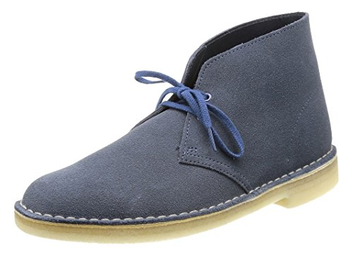 Clarks Originals Herren Desert Boot Blau (Denim)
