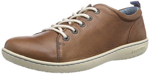 Birkenstock Shoes ISLAY DAMEN Damen Derby Schnürhalbschuhe Braun (Nut)