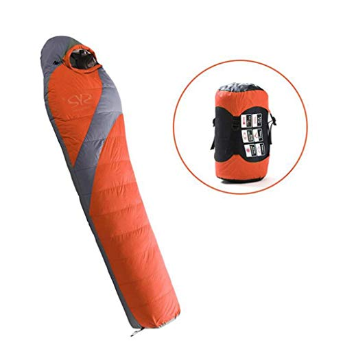 WUZHENG Mummy Down Sleeping Bag Ultralight Portable