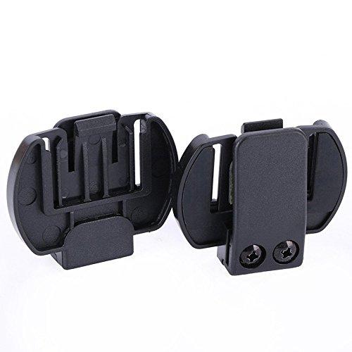 REFURBISHHOUSE 2 Pc Vnetphone V6 V4 V2-500C Gegensprech-Zus?TZE, Sturzhelm-Gegensprech-Klipp-Montagehalterung, Motorrad Bt Gegensprech-Kopfh?rer-Zus?TZE V2 Pc