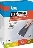Knauf 593786 Fix+Finish Glätt-& Füllspachtel, weiß, 5 kg