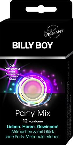 Billy Boy Party Mix - 12er Pack Kondome