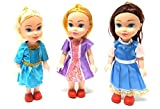 #5: Toy Sports House Small Baby Twin Girl Sisters Long Hair Doll for Kids, Toddlers, Boys, Girls. Random Clothing Colours(9 Inch) (3 Sister Doll)