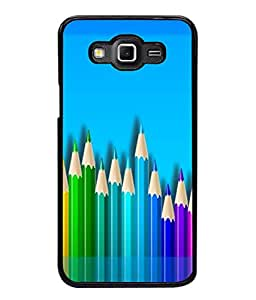 PrintVisa Designer Back Case Cover for Samsung Galaxy Grand 2 :: Samsung Galaxy Grand 2 G7105 :: Samsung Galaxy Grand 2 G7102 :: Samsung Galaxy Grand Ii (Painting Drawing Art Pencil )
