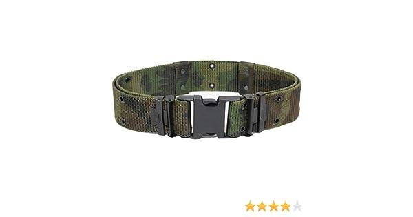Ceinture   Ceinturon Militaire Us Army Lc2 Camouflage Foret Reglable Taille  L 13310020 Airsoft  Amazon.fr  Sports et Loisirs 5383438af0d