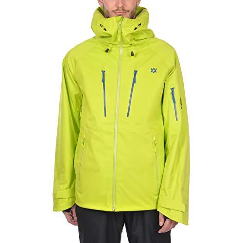 Völkl Herren Funktions Ski Jacke Team Performance Lime 70012100 Größe L -