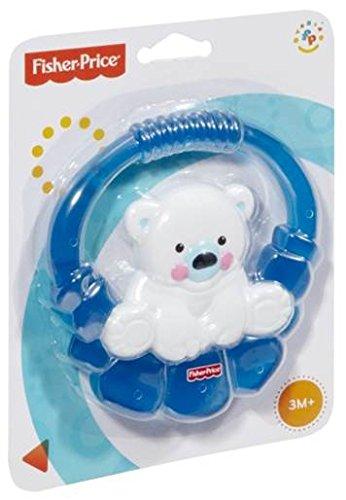 Imagen 3 de Fisher-Price - Sonajero y mordedor oso polar (Mattel P6954)