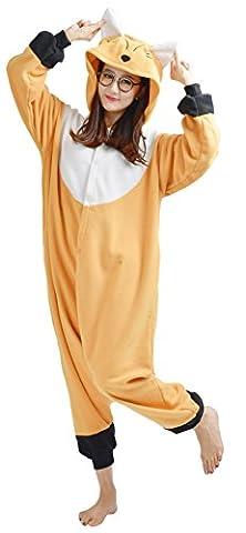 Costumes Orange Jumpsuit - YARBAR Onesies animaux Cosplay unisexe pyjama adulte