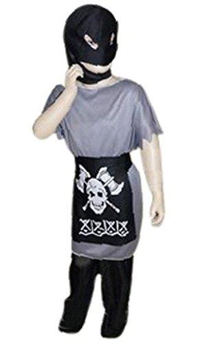 AN05 9-12 Jahre Henker Kostüm, Halloween Kostüm, Henkerkostüm, Henker Faschingskostüme, Henker Karnevalskostüm, für Kinder, Jungen, Mädchen, für Fasching Karneval Fasnacht, auch als Geschenk zum Geburtstag oder ()