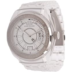 Boss Orange Women's Quartz Watch 1502251 with Plastic Strap