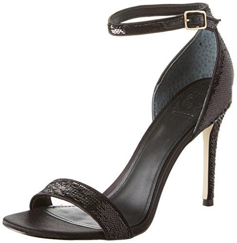 Guess Footwear Dress Sandal, Escarpins Bride Cheville Femme Noir (Black)