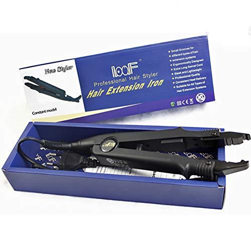YWJH Haarverlängerungs Werkzeug, Hair Extensions Tool, Haar Erweiterungen Maschine Kit, Schnell Keine Spur Einfach Verbinder Haar Werkzeug Schönheit Salon Ausrüstung -