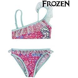 Disney Frozen 2200002745 Bikini, Ropa de baño, Niñas, Elsa (4 años)