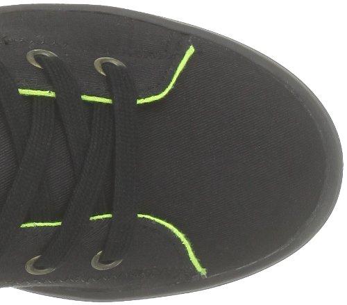 NONAME Plato High Cut Twill, Sneaker Donna Nero  (Noir)