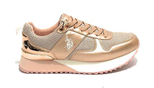 U.S. Polo Assn. 4103W8/TY1 Damen Sneakers Rosa, EU 40 (Damen-handtaschen-polo)