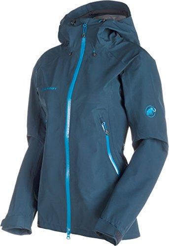 Mammut Ridge HS Hooded Jacket Women (Hardshell Jackets), Farbe:orion;Größe:L