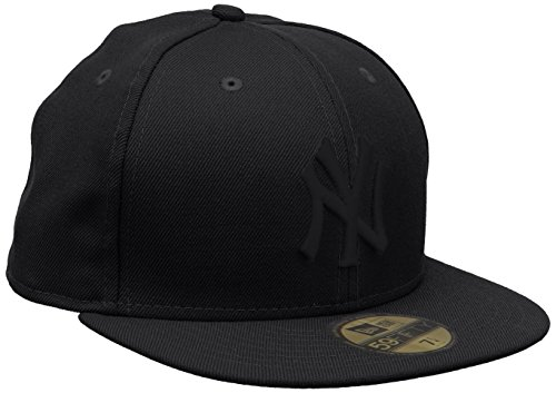 new-era-mens-mlb-basic-ny-yankees-59fifty-fitted-baseball-cap-black-size-7-3-8-inch-587cm