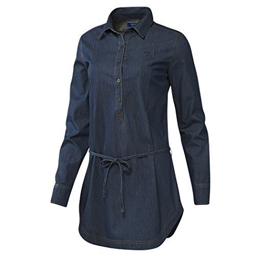 Adidas Damen Jeanskleid Denim Shirt Dress -32