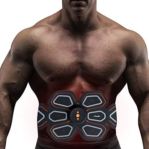Electroestimulador Muscular EMS, Smart Fitness Abdomen Fat Loss Thin Belly Massage Belt Dispositivo...
