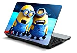 #7: Namo Art Laptop Skins 15.6 inch Stickers for All Laptop - Notebook HQ1048 Despicable Me 2 Laughing Minions