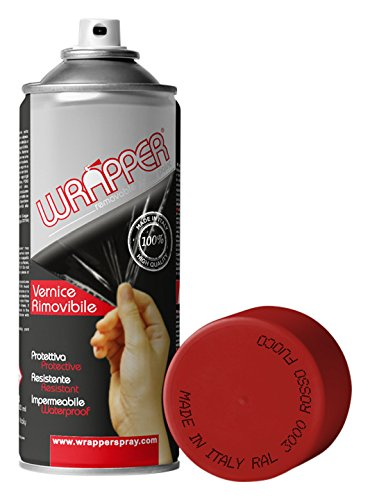 WRAPPER ROSSO FUOCO ML 400