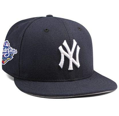 New York Yankees Mariano Rivera 1999 World Series Patch 59FIFTY Fitted Cap by New Era Size 6 7/8