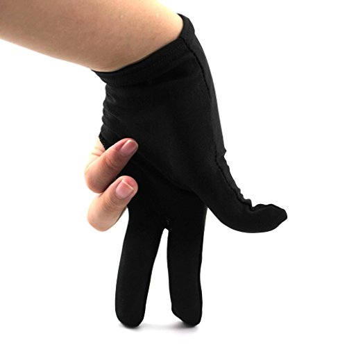 GGG Queue Sports Billiard Pool Shooter 3-Finger-Handschuh Handschuhe Nylon Snooker Billard Zubehör