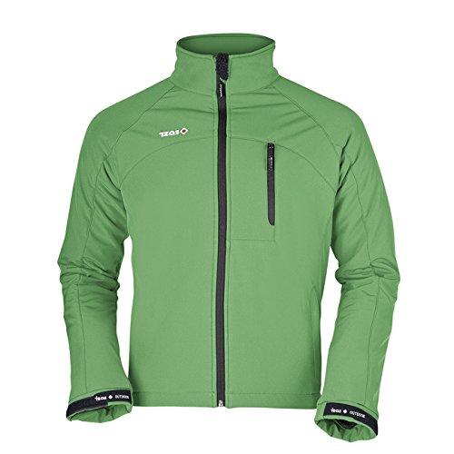Izas–Orion–Giacca softshell per uomo Verde