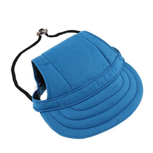 Kleines Haustier Hund, Katze, Kätzchen Regenbogen Hundecap Baseball Mütze Gurt Hat Mütze Kappe Sunbonnet - #3, M