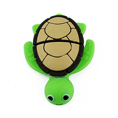 Swallowuk Cartoon Tier Meer Schildkröte USB Flash Drive Memory Daumen Stick (16GB)