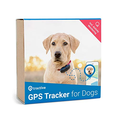 Tractive Edition 2019 GPS Dog and Activity Tracker. Waterproof dog tracking device with unlimited range