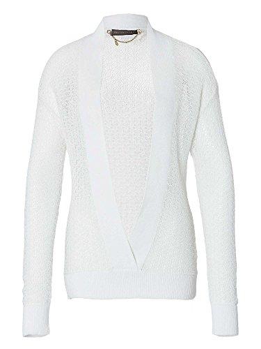 TRU TRUSSARDI Donne Pullover in maglia bianco 42