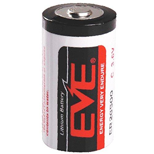 Panasonic Hückmann XCell Lithium Batterie LS26500 C, 3,6V/9000mAh Batterie 4042883337534 6-volt-lithium-batterie