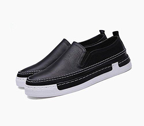 tjmm-scarpe-dei-nuovi-uomini-carrefour-scarpe-traspiranti-uno-scarpe-piane-del-pedale-black-42