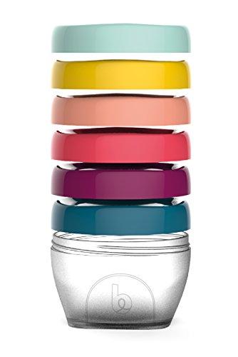 Babymoov Babybols Aufbewahrungsbehälter für Babynahrung, hermetischer Drehverschluss, 6-teilig, 250 ml