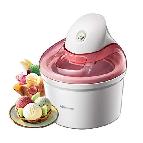 Mini creatore automatico di gelato alla frutta per bambini -1.2l | fai-da-te frozen yogurt e sorbetto macchina, comprese le ricette elettroniche - miglior regalo