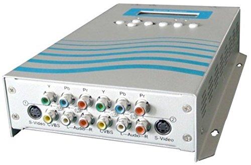Gowe 2-Kanal Mini Kodierung & Modulator (dmb-9590h) für Mall AV ADS, Home Entertainment, Hotel TV (DVB-T, DVB-C)