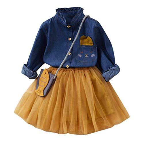 Märchen Outfits Für Kleinkinder - Likecrazy Mädchen Kleider Tutu Prinzessin Kleid