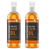 WishCare Premium Cold Pressed Castor Oil - Pure & Virgin Grade - For