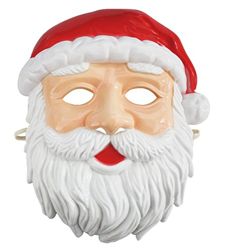Petitebelle Santa Claus Maske Unisex UP Party Kleid KOSTÜM FÜR Kinder Gr. One Size, ()
