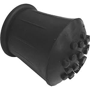 Toolman® TM023 Gummifuß, Gummikappe für Gehstock, 1,6cm, 4 Stück