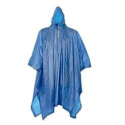 2 o 4 pz, Poncio pioggia con cappuccio, lavabile fino a 20° C.