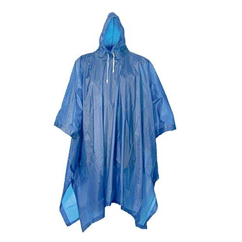 2 o 4 pz, Poncio pioggia con cappuccio, lavabile fino a 20° C, qualità