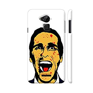 Colorpur American Psycho On White Designer Mobile Phone Case Back Cover For Coolpad Note 3 / Note 3 Plus   Artist: Kaushal Faujdar