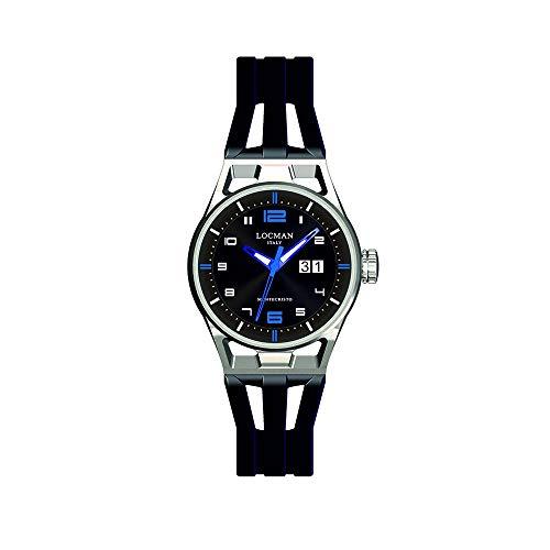 Reloj para Hombre montecristo Solo Tiempo Azul locman