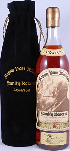 Pappy Van Winkle`s 1984 Gold Wax Family Reserve Kentucky Straight Bourbon Whiskey 47,8% Vol.