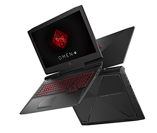 OMEN by HP 17 an014ng 173 Zoll 100 % HD IPS Gaming Laptop Intel core i7 7700HQ 1 TB HDD 256 GB SSD 16 GB RAM NVIDIA GeForce GTX 1070 8 GB G Sync Windows 10 household 64 schwarz Notebooks