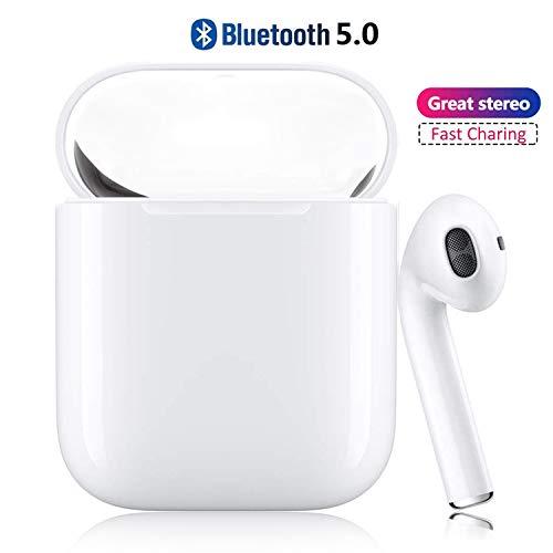 WDGP 【2019 più recente】 Cuffie Bluetooth 5.0 Wireless Auricolari Bluetooth Senza Fili Sportivi...