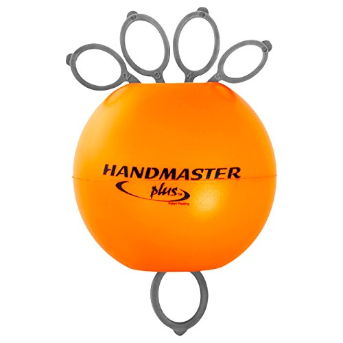 Handmaster Plus Handtrainer Fingertrainer Unterarmtrainer, stark, ORANGE